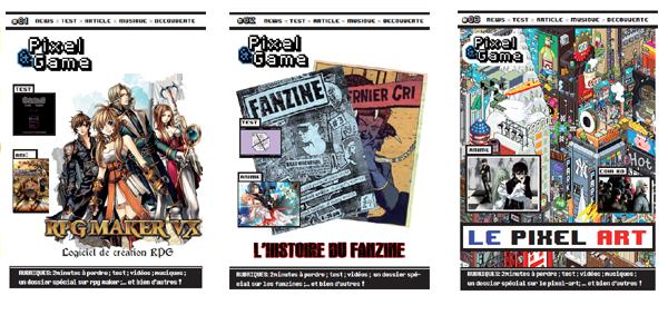 Le fanzine Pixelandgame dans Fanzines banniere-darticle-paterne-copier