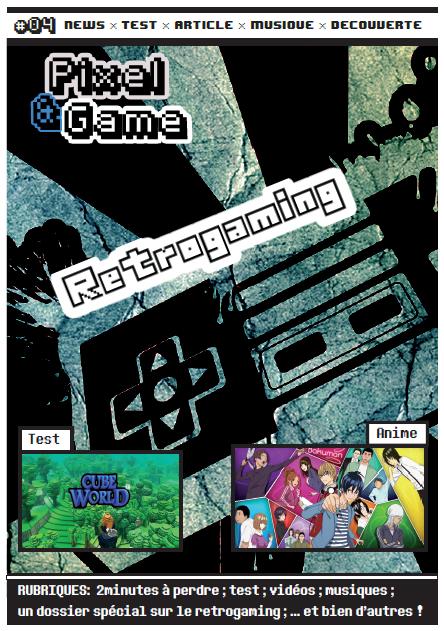 Numéro 4 Pixelandgame dans Fanzines page-de-pr-4